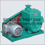 Type 2X two-stage rotary vane series vacuum pump 2X-15A Natural Cooling